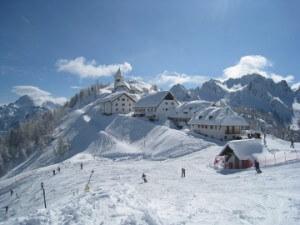europe sous la neige