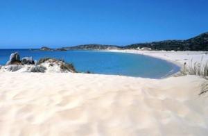La plage de Chia Sardaigne